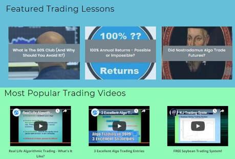 KJ Trading Systems - Best of Algorithmic Trading Blog in 2019